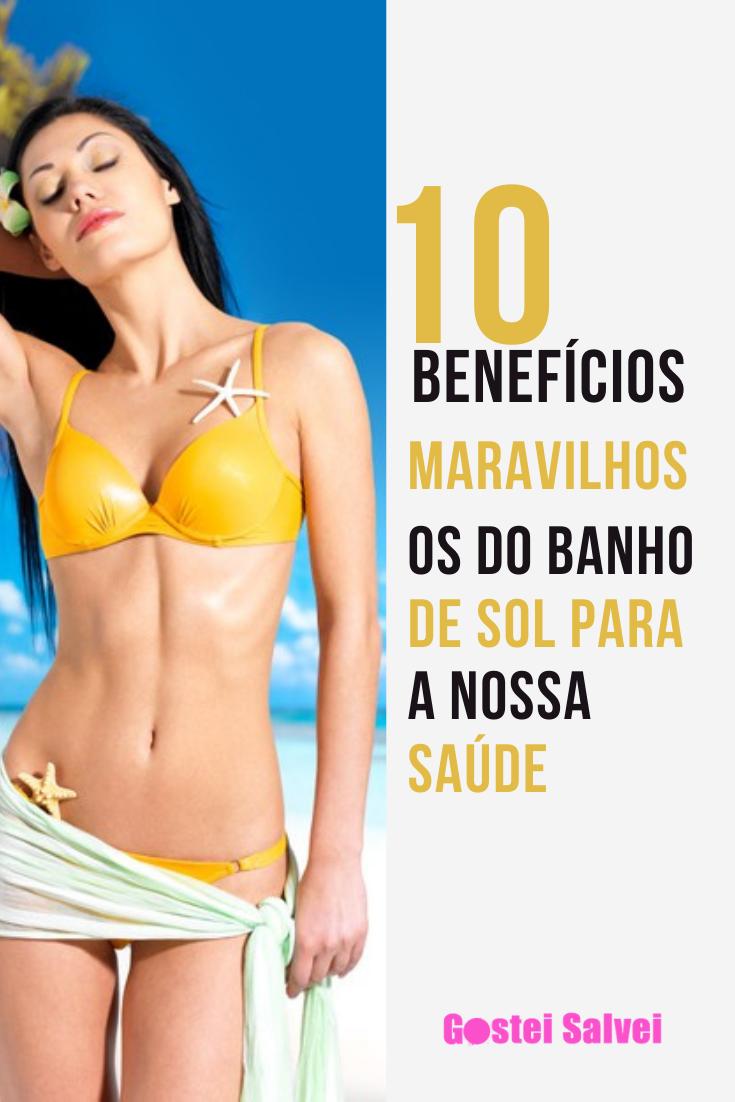 You are currently viewing 10 Benefícios maravilhosos do banho de sol para a nossa saúde