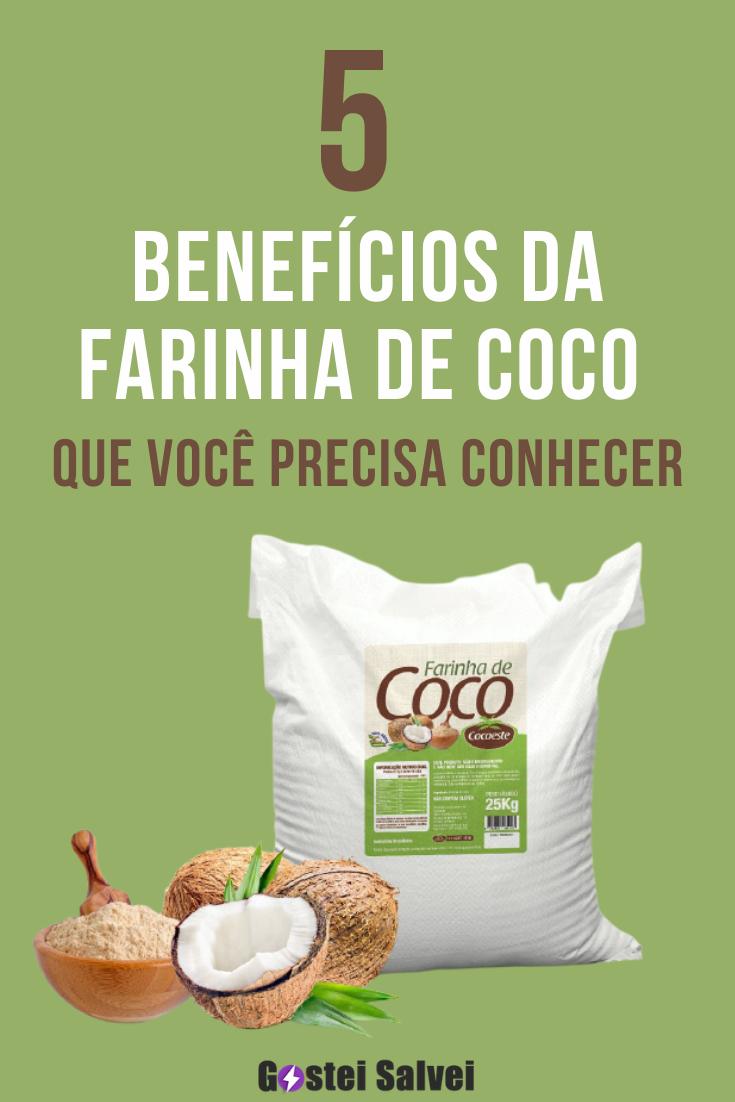 5 Benefícios da farinha de coco (Você vai se surpreender)