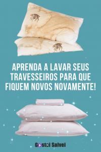 Aprenda a lavar seus travesseiros para que fiquem novos novamente!