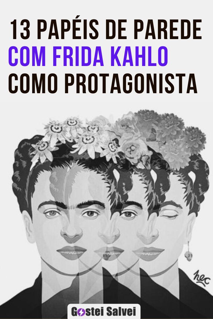 You are currently viewing 13 Papéis de parede com Frida Kahlo como protagonista