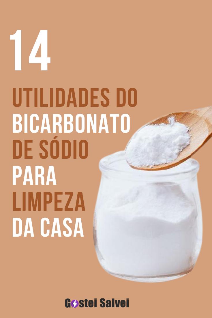 You are currently viewing 14 Utilidades do bicarbonato de sódio para limpeza da casa