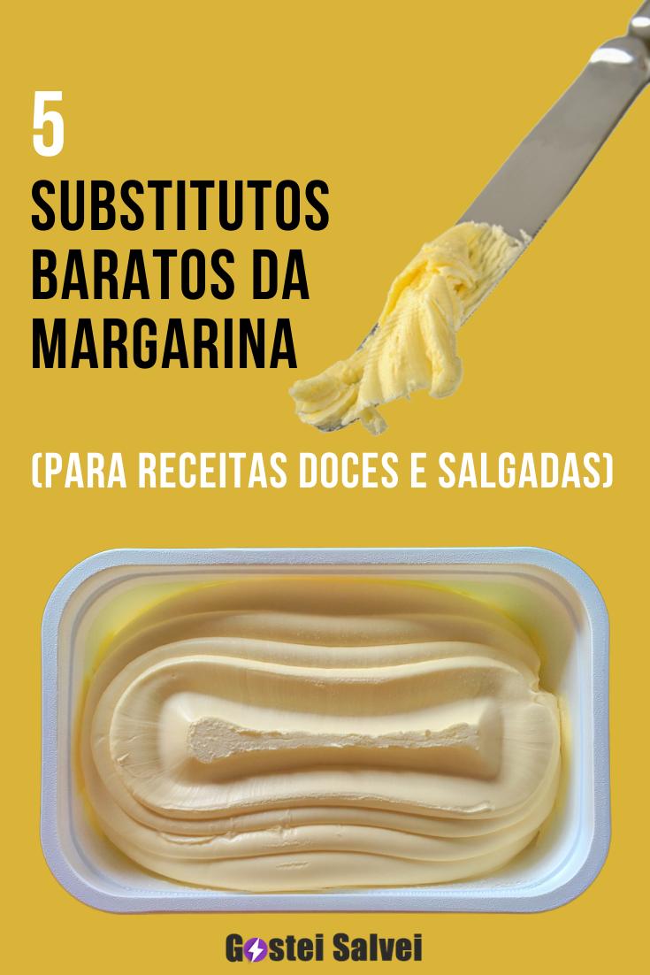 You are currently viewing 5 Substitutos baratos da MARGARINA (para receitas doces e salgadas)