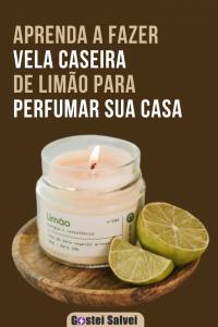 Aprenda a fazer vela caseira de limão para perfumar sua casa