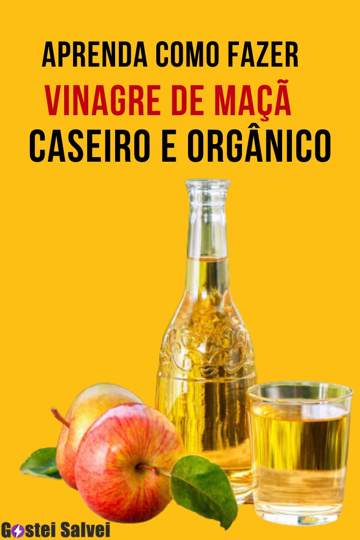 Aprenda como fazer vinagre de maçã caseiro