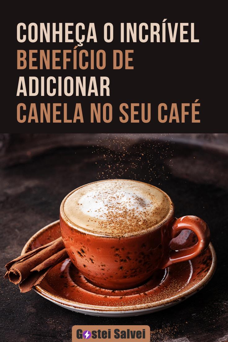 Conheça o incrível benefício de adicionar canela no seu café