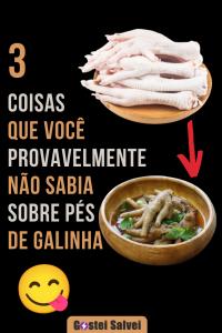 3 Coisas que você provavelmente NÃO sabia sobre pés de galinha