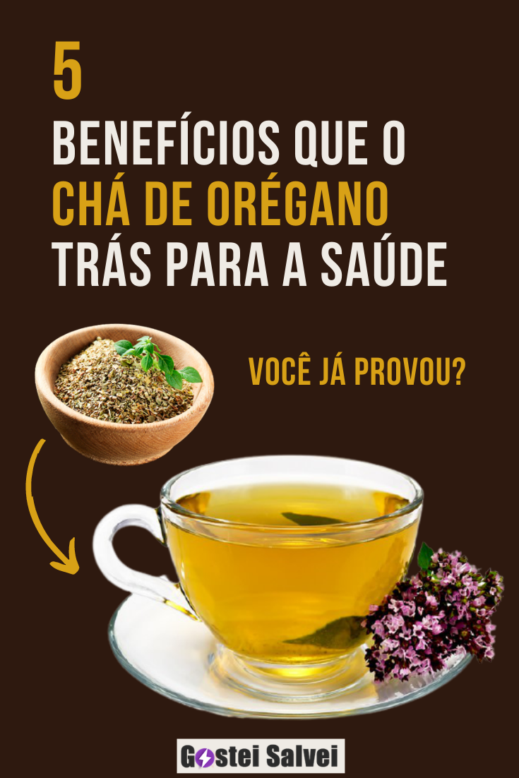 5 Benefícios que o chá de orégano trás para a saúde