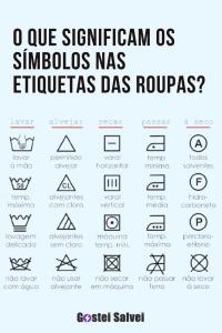Read more about the article O que significam os símbolos nas etiquetas das roupas?