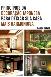 Princípios da decoração japonesa para deixar sua casa mais harmoniosa