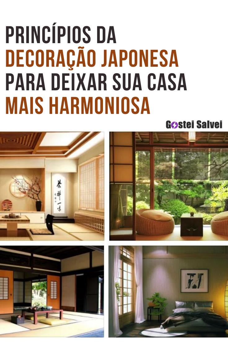 You are currently viewing Princípios da decoração japonesa para deixar sua casa mais harmoniosa