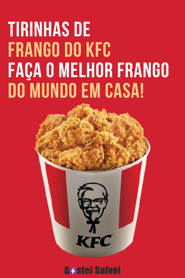 Tirinhas de frango do KFC – Faça a sua!