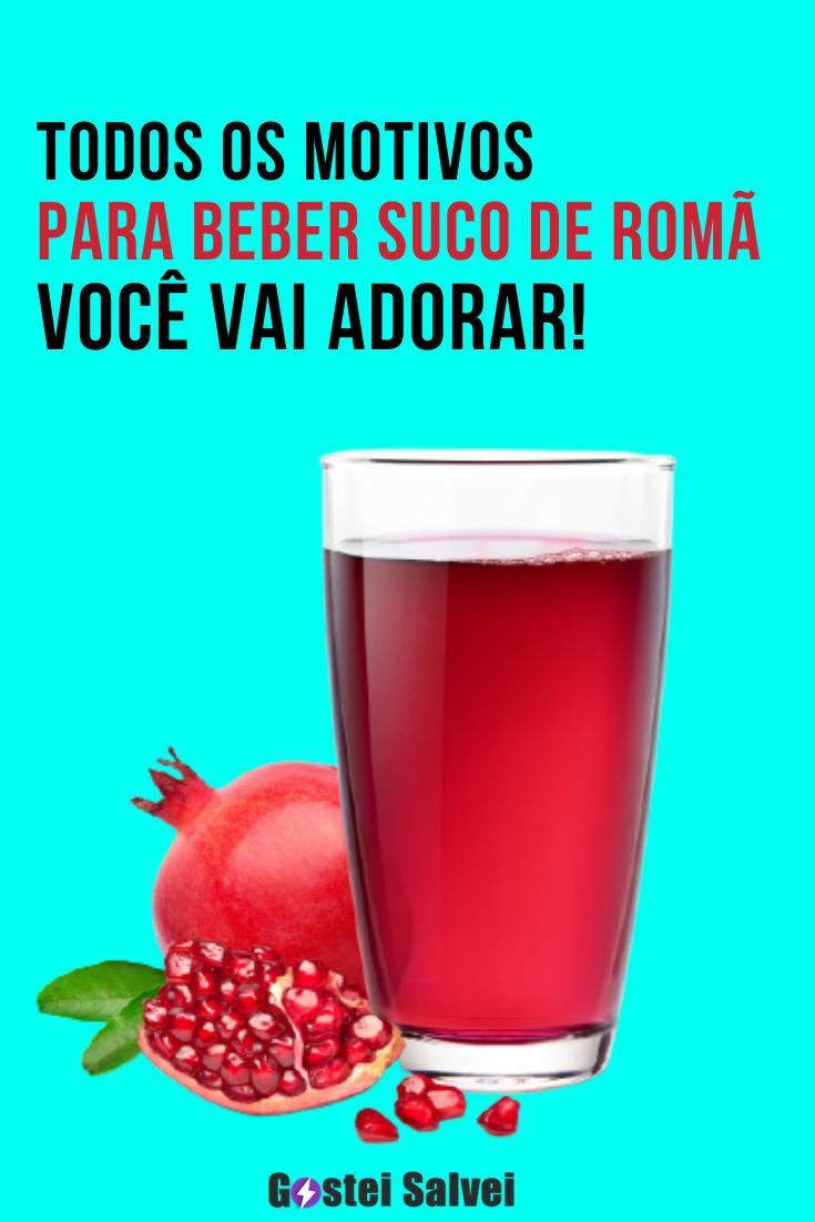 You are currently viewing Todos os motivos para beber suco de romã – Você vai adorar!