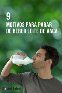 9 Motivos para parar de beber leite de vaca