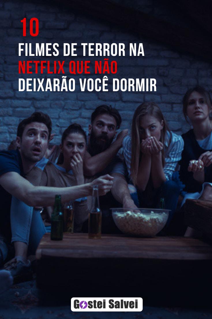 10 Filmes de terror na Netflix que não deixarão você dormir