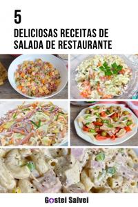 5 Deliciosas Receitas de Salada De Restaurante