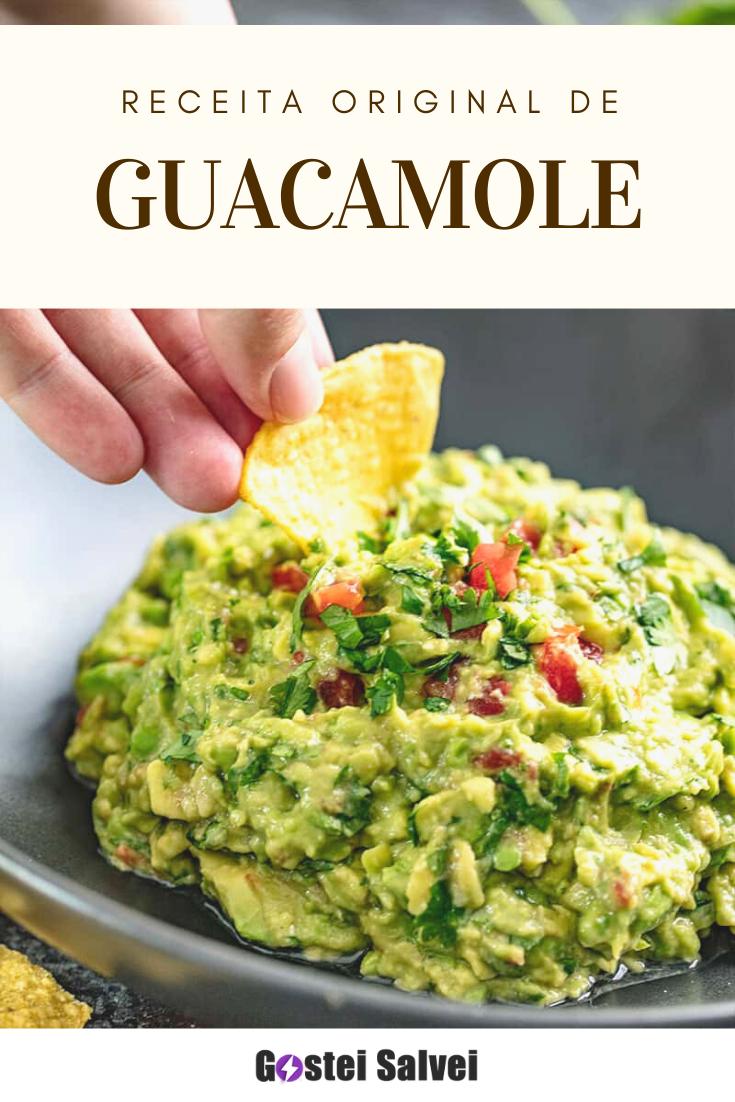 You are currently viewing Receita Original de Guacamole: Você vai querer comer todo dia