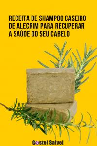 Read more about the article Receita de shampoo caseiro de alecrim para recuperar a saúde do seu cabelo