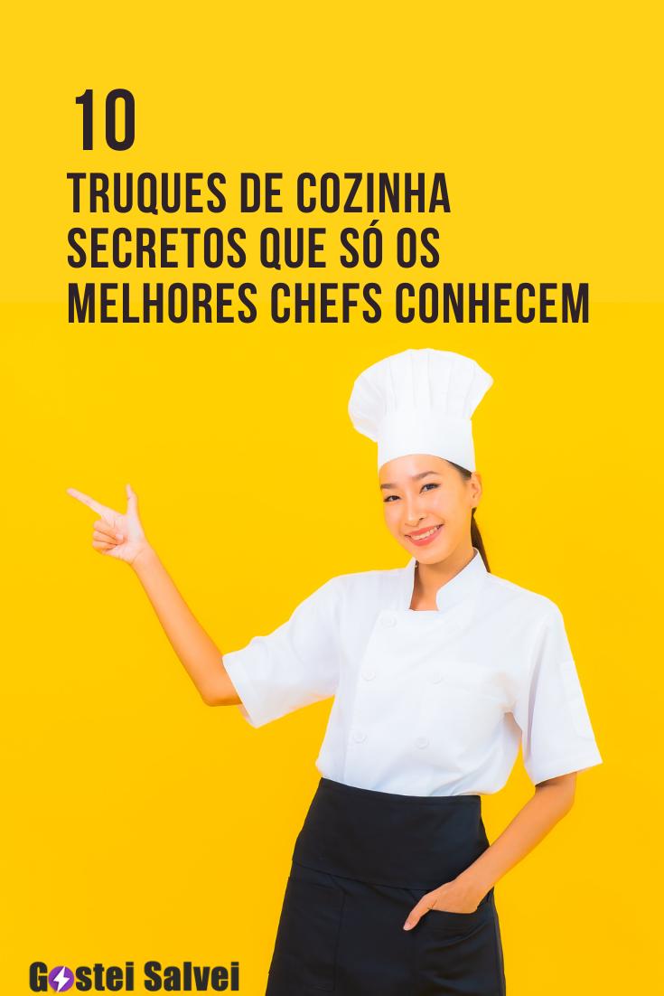 You are currently viewing 10 Truques de cozinha secretos que só os melhores chefs conhecem