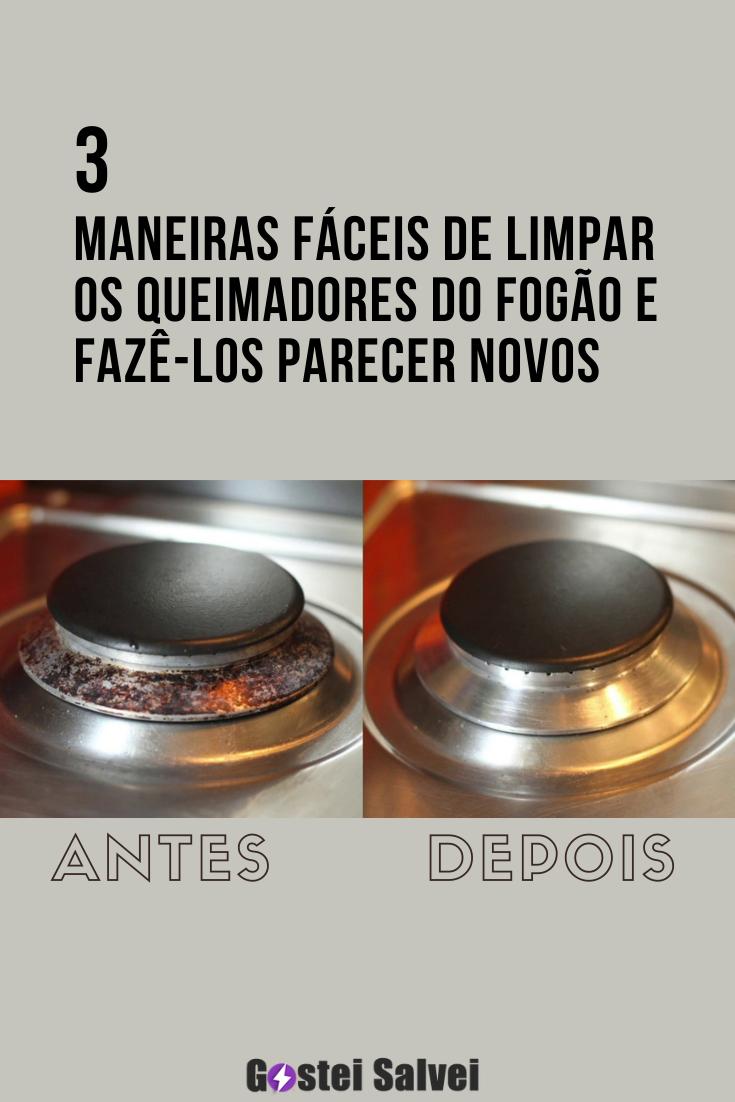 You are currently viewing 3 Maneiras fáceis de limpar os queimadores do fogão e fazê-los parecer novos