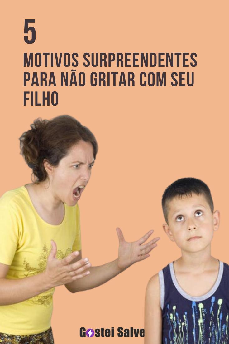 You are currently viewing 5 Motivos surpreendentes para não gritar com seu filho