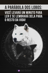 Read more about the article A parábola dos lobos: Você levará um minuto para ler e se lembrará dela para o resto da vida!