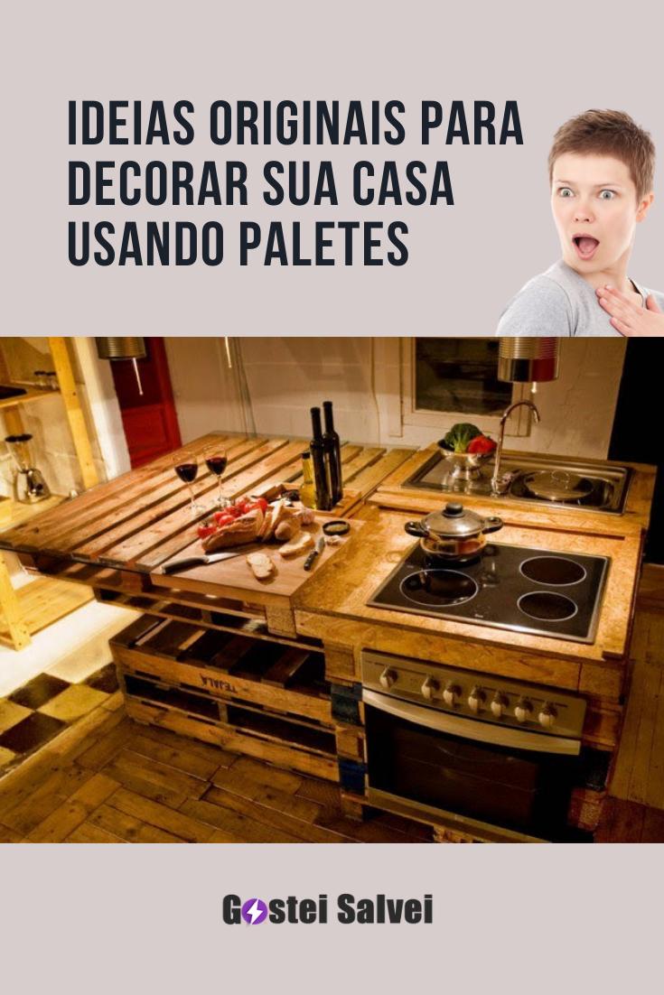 You are currently viewing Ideias originais para decorar sua casa usando paletes