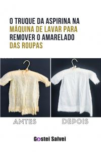 Read more about the article O truque da aspirina na máquina de lavar para remover o amarelo das roupas