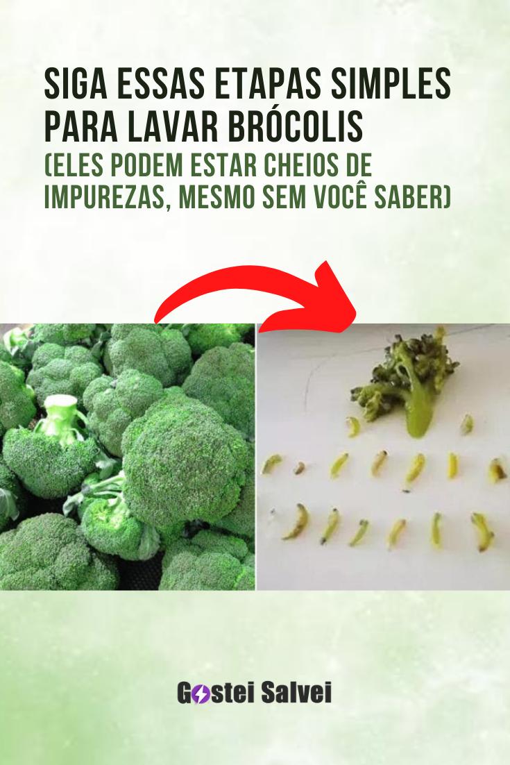 You are currently viewing Siga essas etapas simples para lavar brócolis (Eles podem estar cheios de impurezas, mesmo sem você saber)