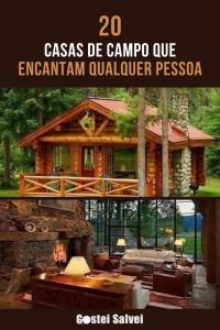 Read more about the article 20 Casas de campo que encantam qualquer pessoa