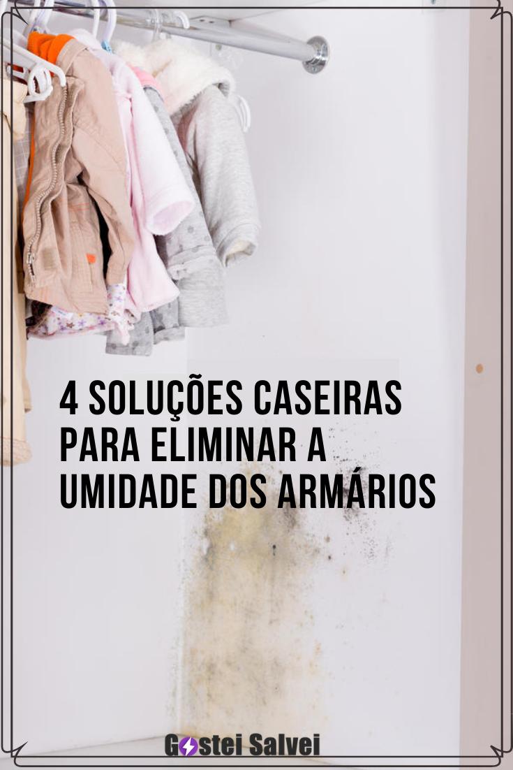 You are currently viewing 4 Soluções caseiras para eliminar a umidade dos armários