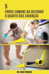 Read more about the article 5 Erros comuns ao decorar o quarto das crianças