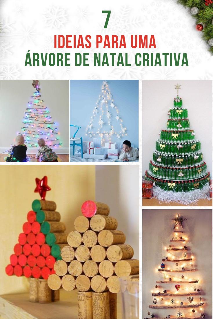 You are currently viewing 7 Ideias para uma árvore de natal criativa