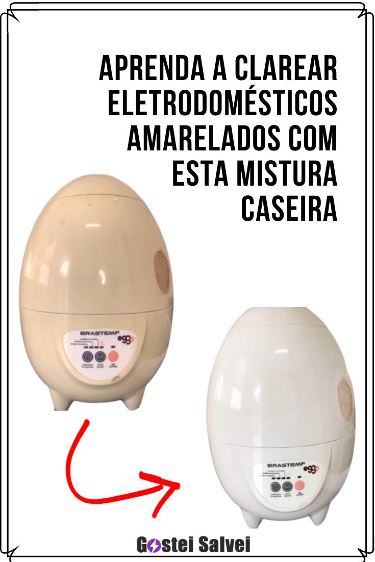 You are currently viewing Aprenda a clarear eletrodomésticos amarelados com esta mistura