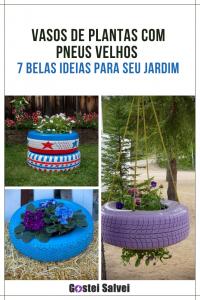 Read more about the article Vasos de plantas com pneus velhos – 7 Belas ideias para seu jardim