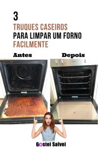 Read more about the article 3 Truques caseiros para limpar um forno facilmente
