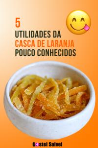 Read more about the article 5 Utilidades de casca de laranja pouco conhecidos