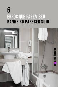 Read more about the article 6 Erros que fazem seu banheiro parecer sujo