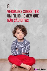 Read more about the article 8 Verdades sobre ter um filho homem que não são ditas