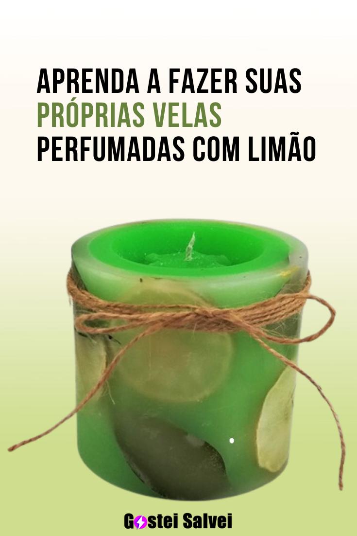 You are currently viewing Aprenda a fazer suas próprias velas perfumadas com limão