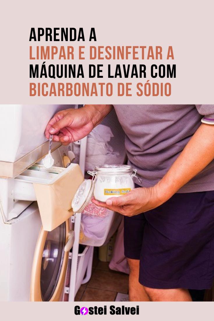 You are currently viewing Aprenda a limpar e desinfetar a máquina de lavar com bicarbonato de sódio