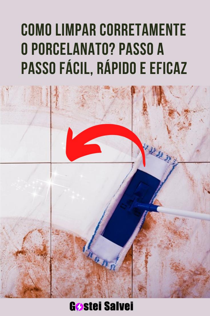 You are currently viewing Como limpar corretamente o porcelanato? Passo a passo fácil, rápido e eficaz