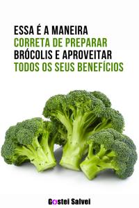 Read more about the article Essa é a maneira correta de preparar brócolis e aproveitar todos os seus benefícios