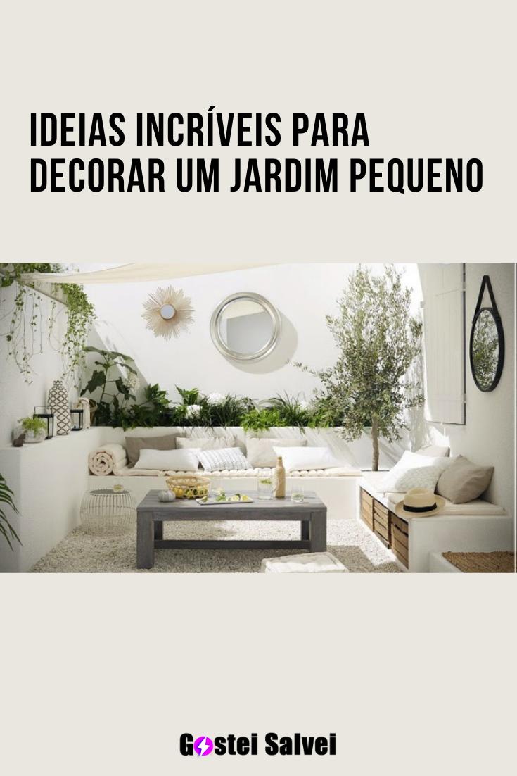 You are currently viewing Ideias incríveis para decorar um jardim pequeno