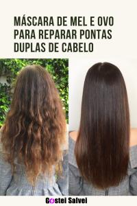 Read more about the article Máscara de mel e ovo para reparar pontas duplas de cabelo