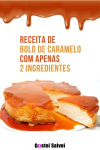 Read more about the article Receita de bolo de caramelo com 2 ingredientes