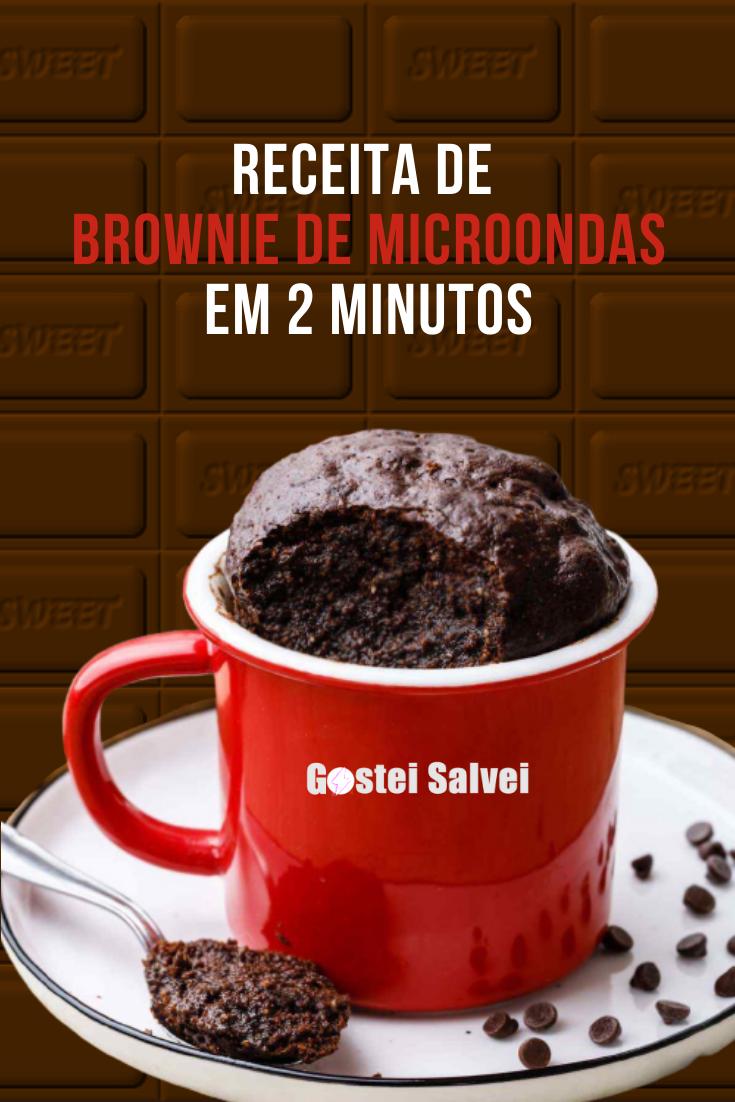 You are currently viewing Receita de brownie de microondas em 2 minutos